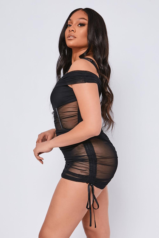 Black-Ruched-Power-Mesh-Off-The-Shoulder-Mini-Dress-3.jpg