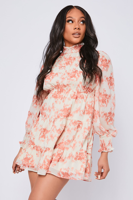 Evelyn-Cream-Floral-Print-Chiffon-High-Neck-Swing-Dress-2.jpg
