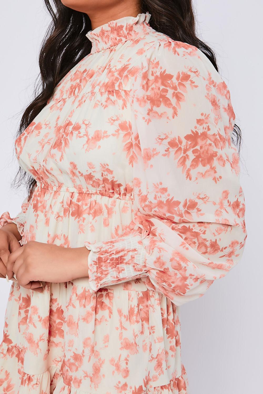 Evelyn-Cream-Floral-Print-Chiffon-High-Neck-Swing-Dress-3.jpg
