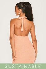 Coral-Recycled-Rib-Low-Back-Halter-Neck-Mini-Dress-1.jpg