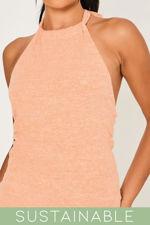 Coral-Recycled-Rib-Low-Back-Halter-Neck-Mini-Dress-3.jpg