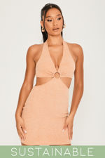 clara-mocha-recycled-rib-halterneck-ring-detail-cut-out-mini-dress-2.jpg